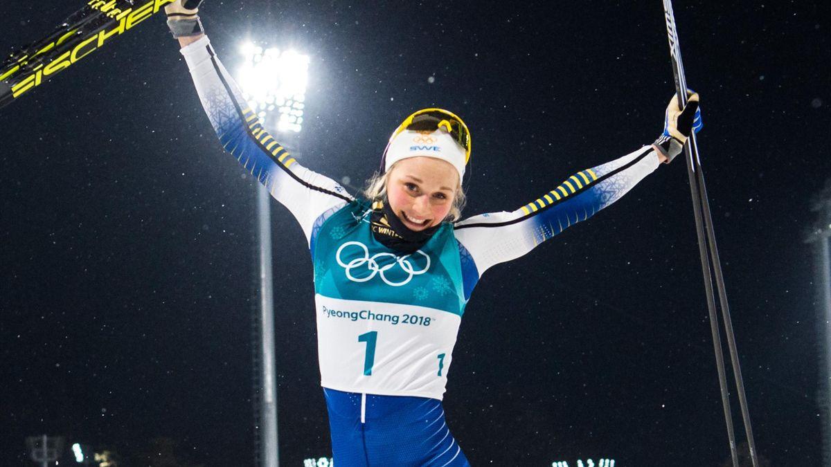 Langlauf-Olympiasiegerin Stina Nilsson greift im Biathlon an
