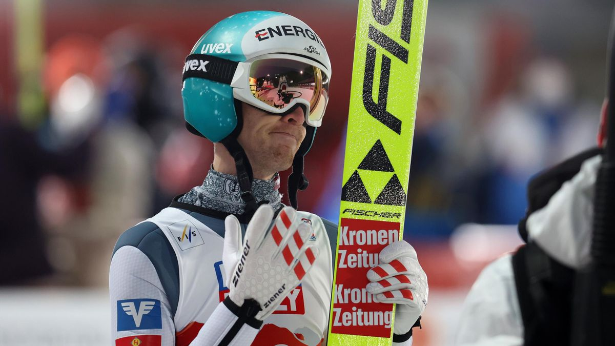 Michael Hayböck war auf der WM-Entscheidung auf der Normalschanze als Siebter bester Österreicher