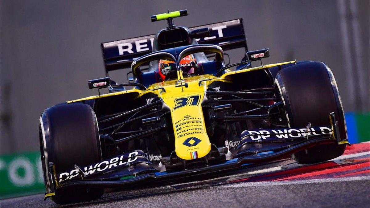 Esteban Ocon (Renault) au Grand Prix d'Abou Dabi 2020