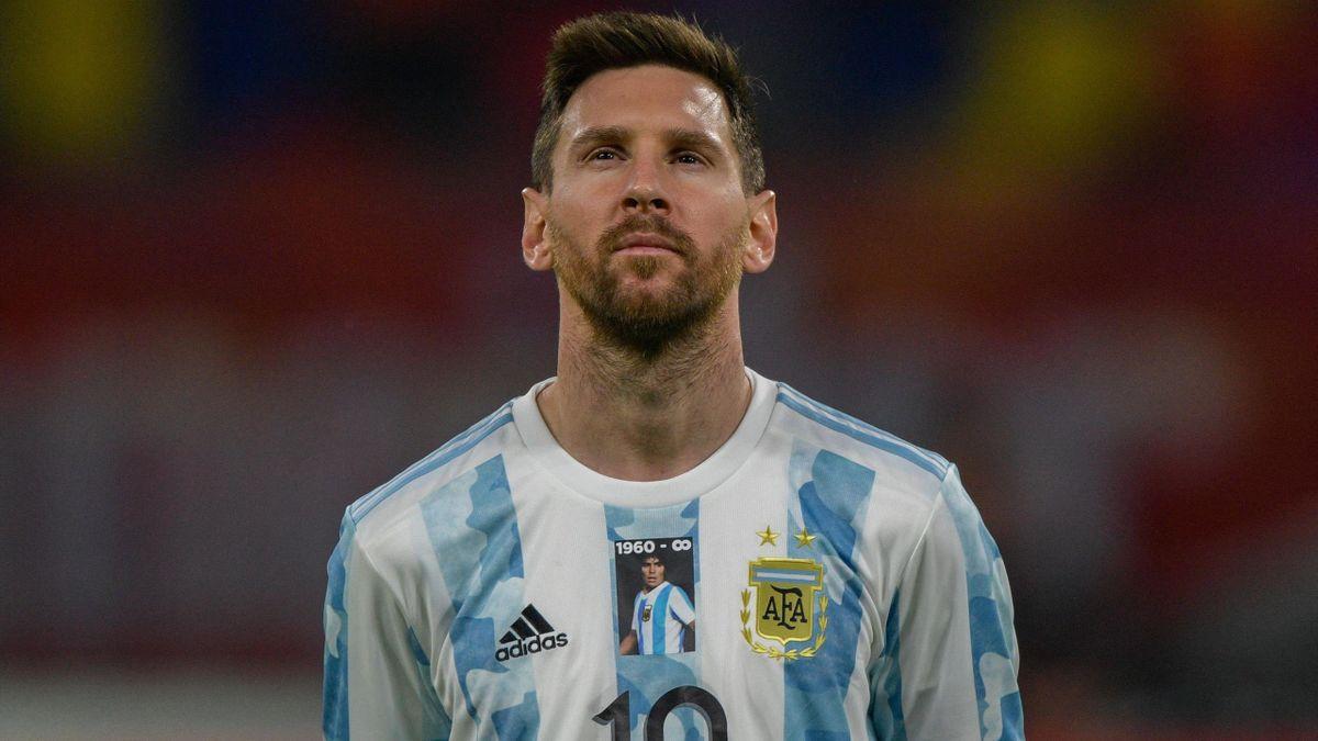 Лионель Месси, сборная Аргентины