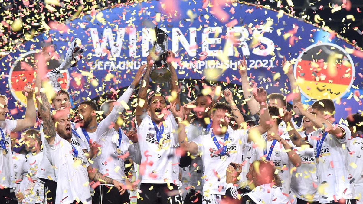 Deutschland bejubelt den U21-EM-Titel 2021