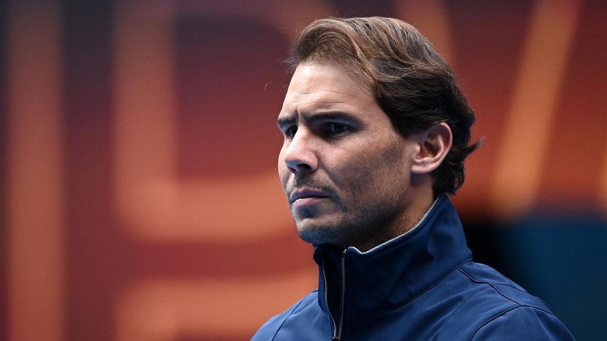 Rafael Nadal kann beim ATP Cup erneut nicht für Spanien aufschlagen