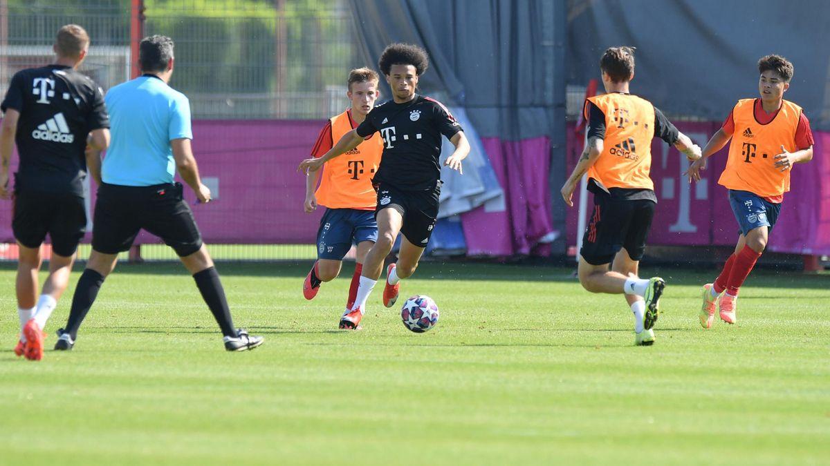 FC Bayern München   Leroy Sané