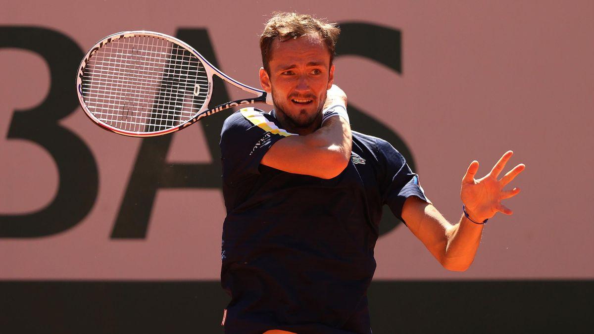 Daniil Medvedev au 1er tour à Roland-Garros 2021