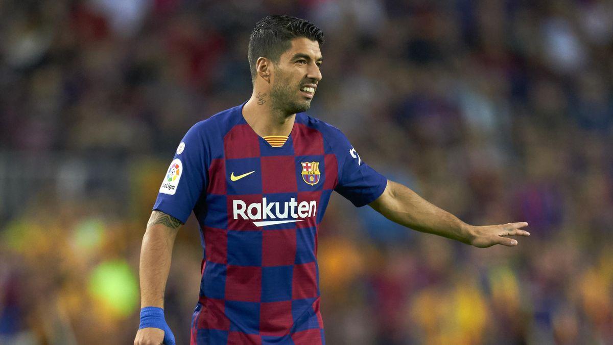 Luis Suarez lors de Barça-Séville