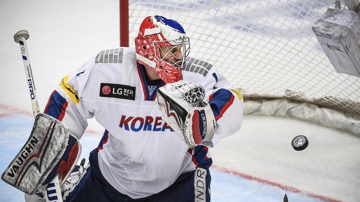 Matthew Dalton, goalie della Corea del Sud, 2017