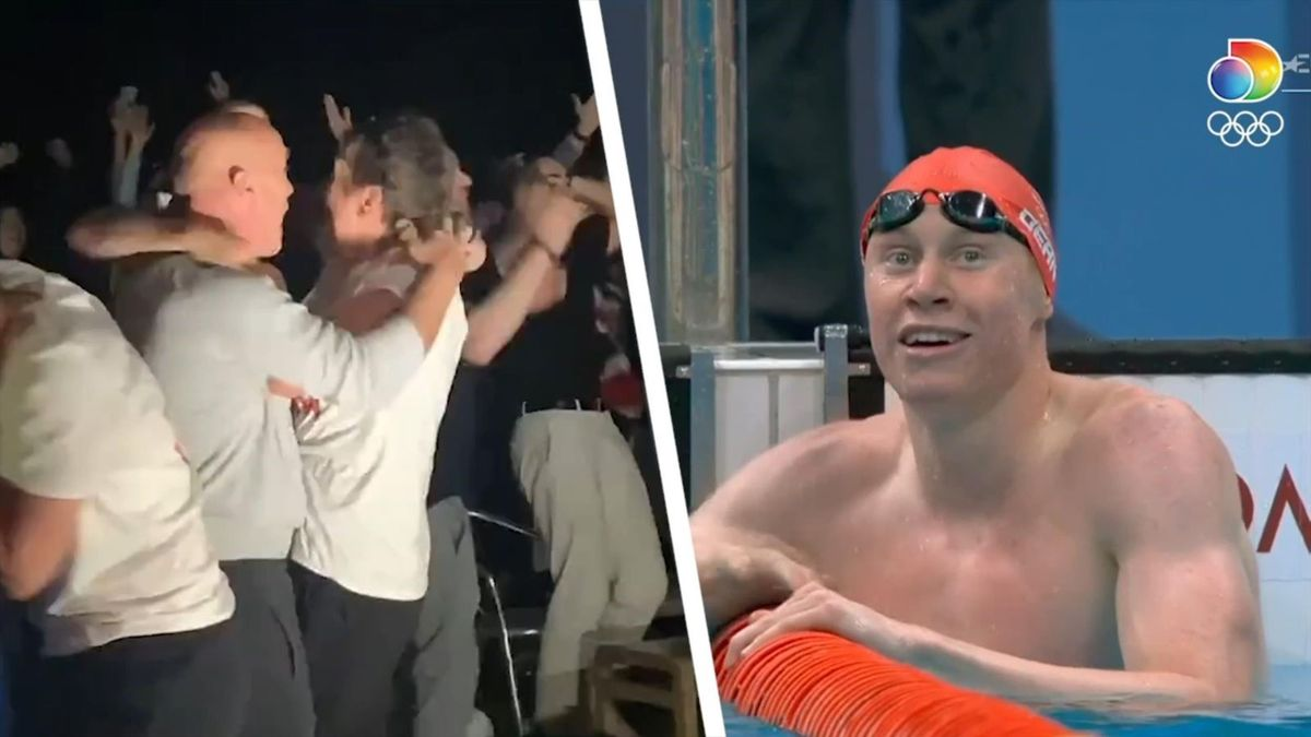 Tom Dean's family go wild in Maidenhead as he stuns world to claim gold