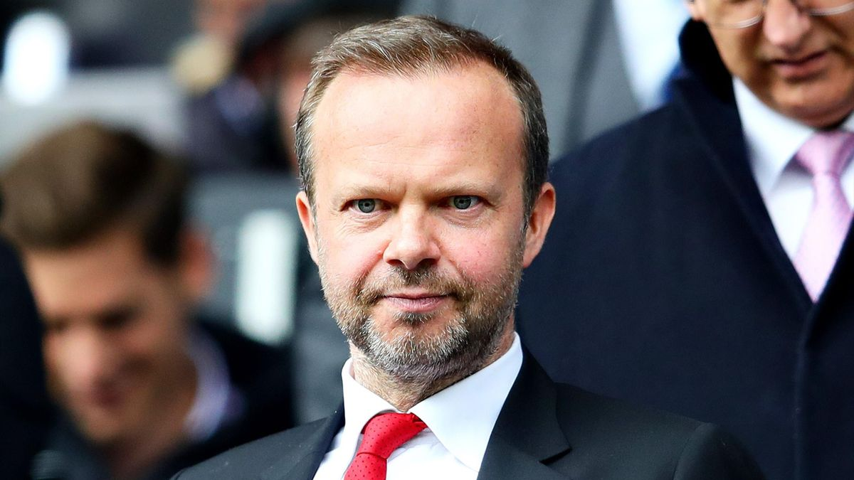 Executive Vice-Chairman of Manchester United Ed Woodward looks on during the Premier League match between Huddersfield Town and Manchester United at John Smith's Stadium on May 05, 2019 in Huddersfield, United Kingdom