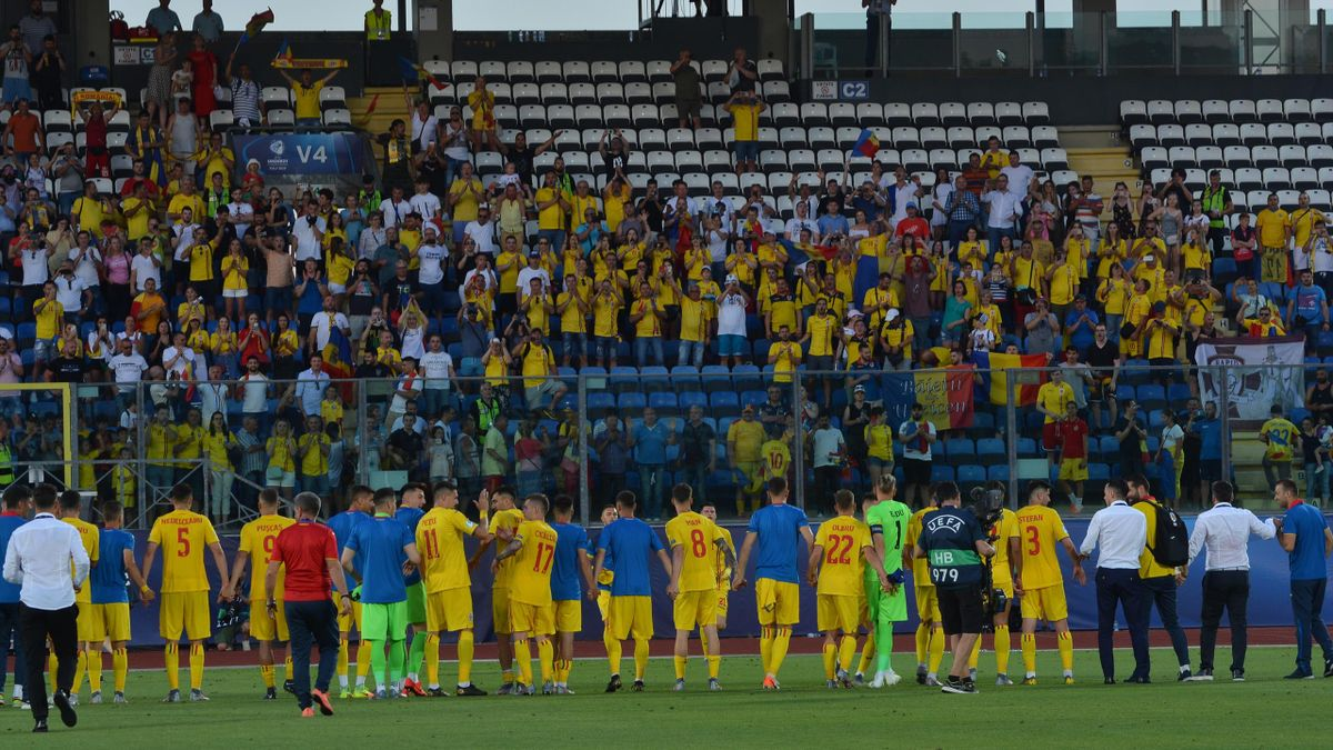 Danemarca U21 - Romania U21 2-1 (Preliminarii EURO 2021)