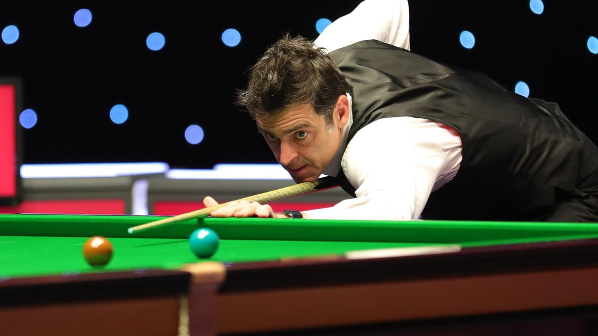 Ronnie O'Sullivan at the 2021 Masters