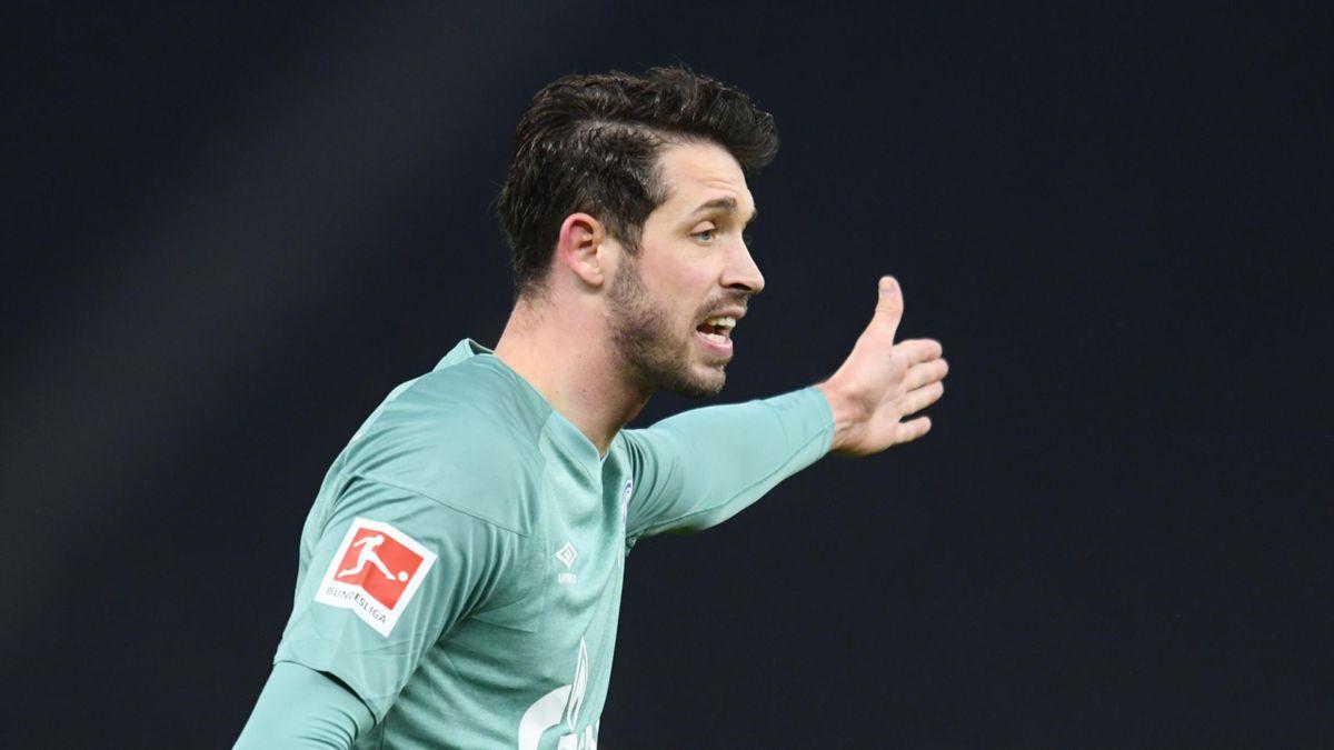 Mark Uth zeigte als einer der wenigen Schalker beim 0:3 in Berlin eine ansprechende Leistung