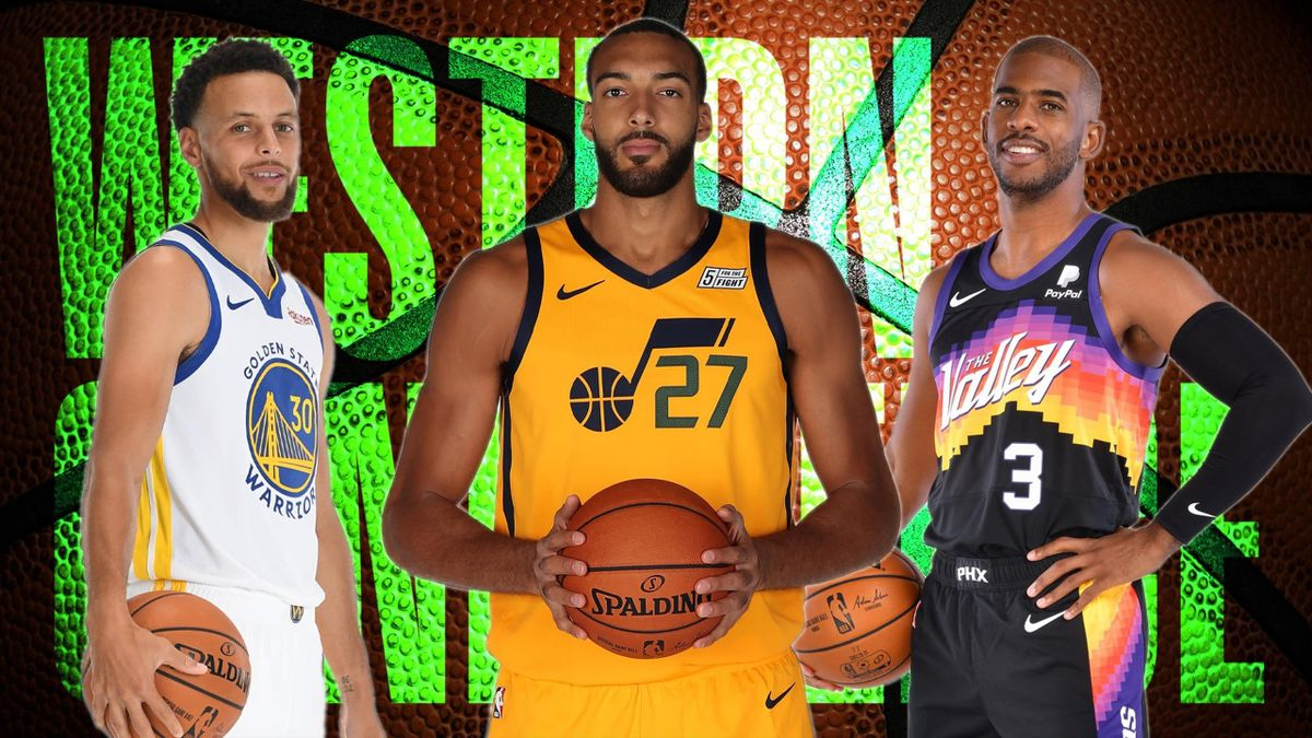 Stephen Curry, Rudy Gobert, Chris Paul, Western Conference 2020-21