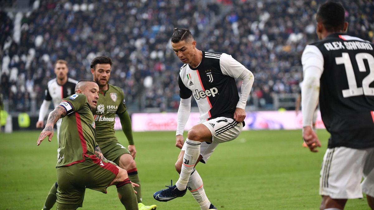 Cristiano Ronaldo și Radja Nainggolan