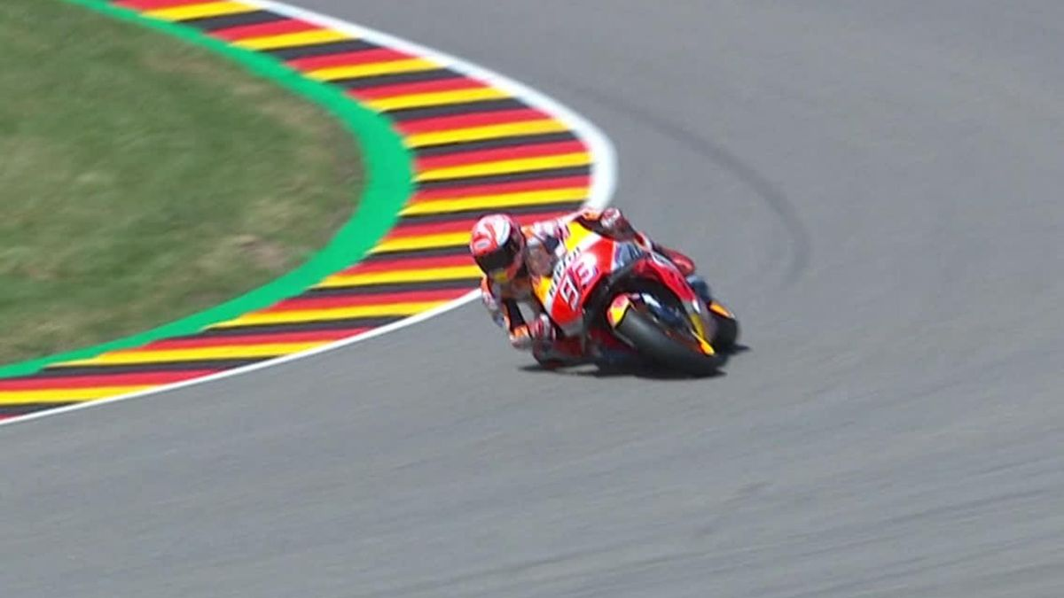 MotoGP - Marquez Slide