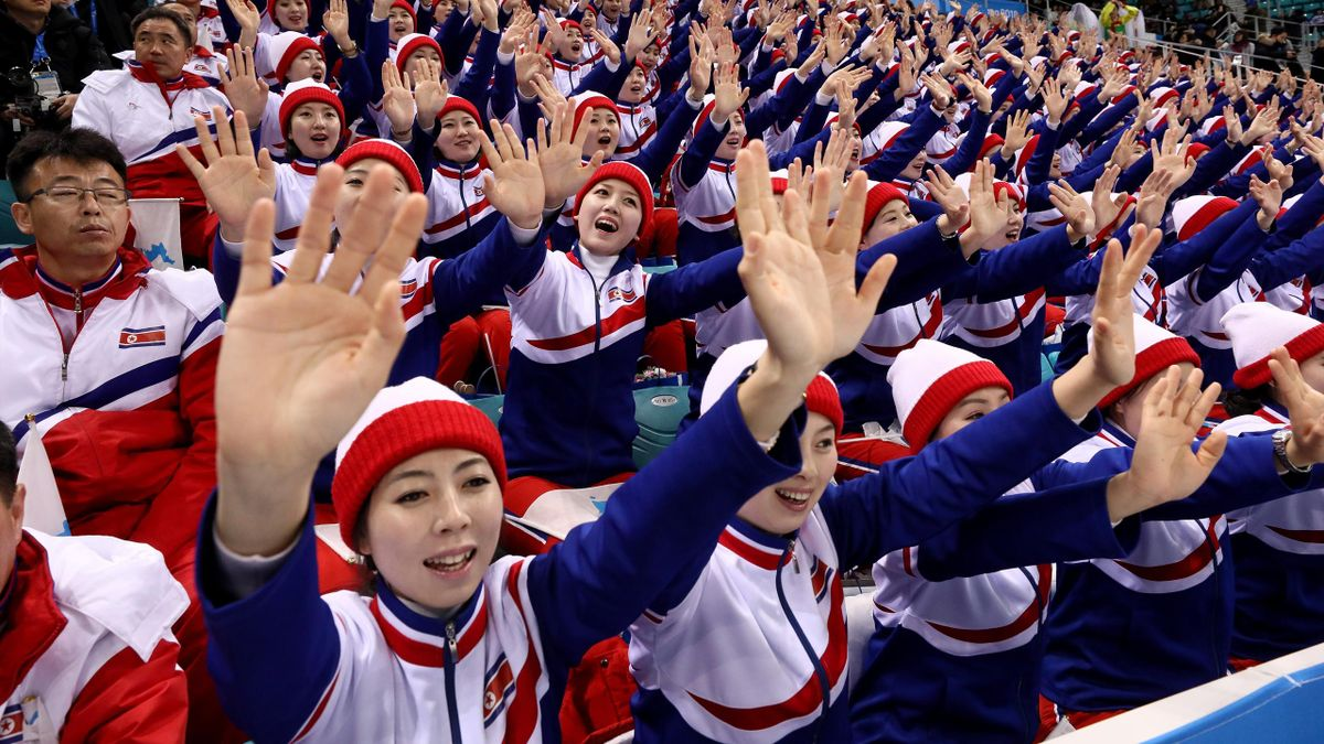 Olympia 2018: Cheerleader aus Nordkorea