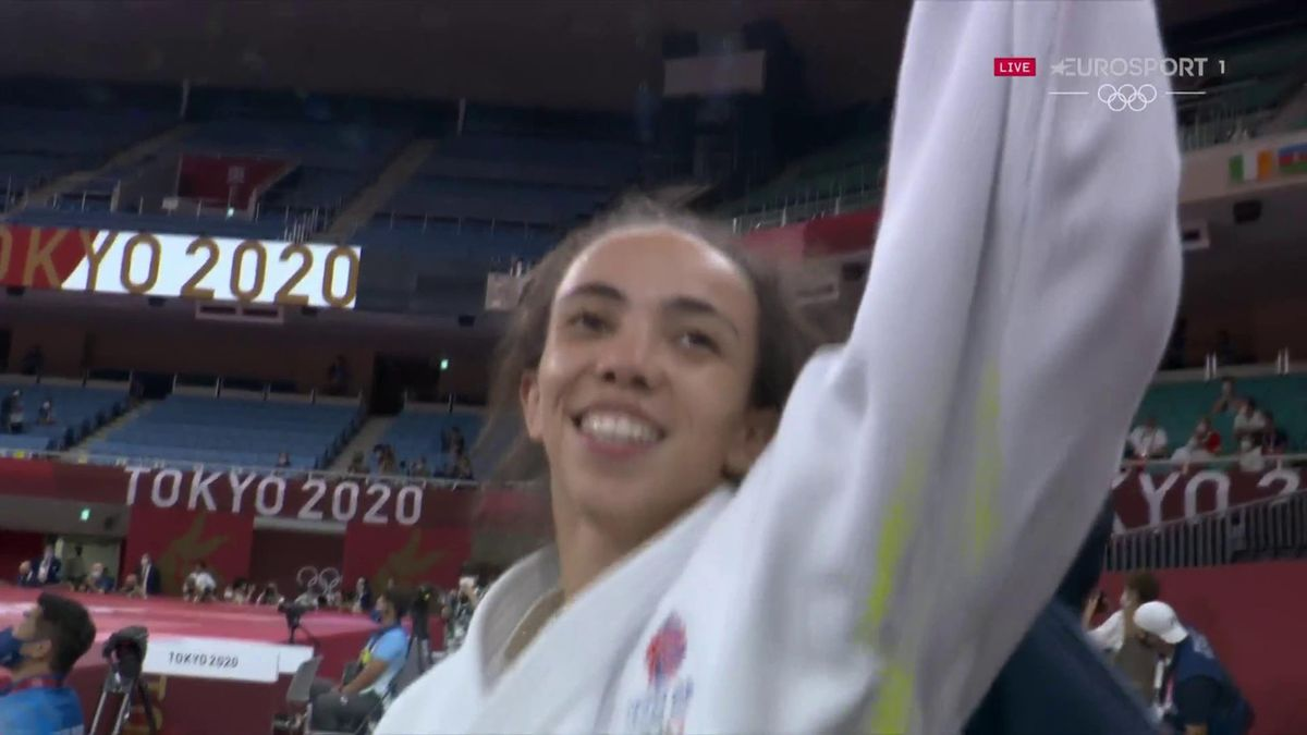 'Amazing!' - Giles wins Britain's first medal in Tokyo with judo bronze