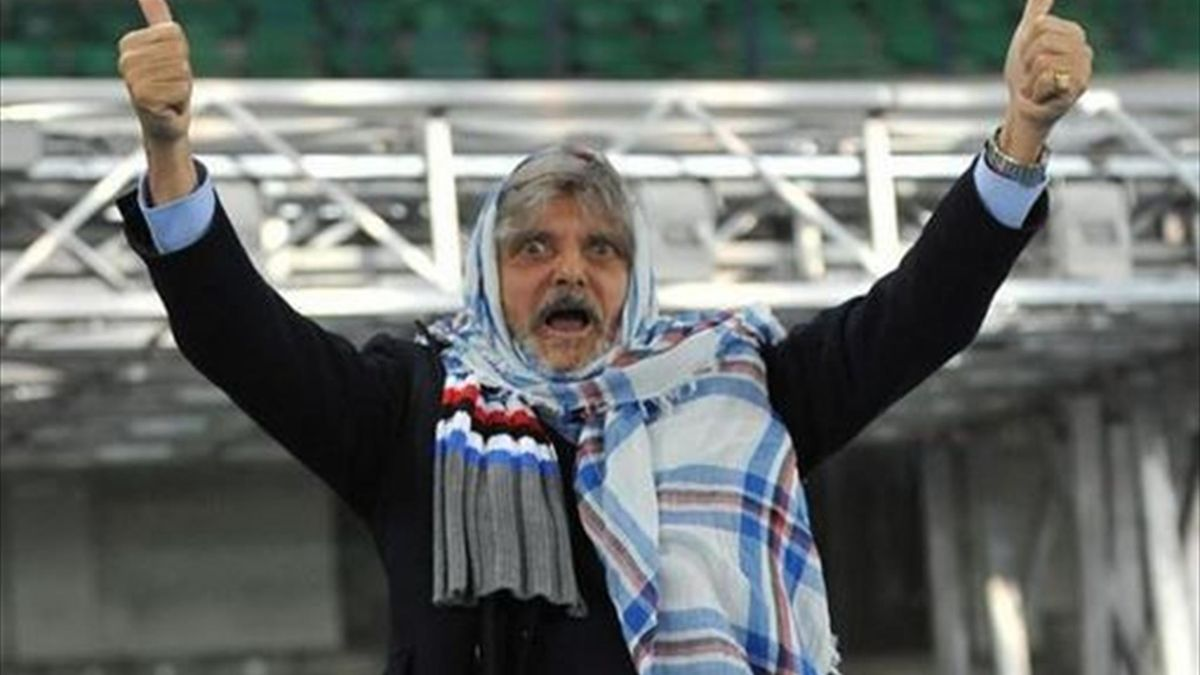 "Sampdoria boss banned over ""that Filipino"" remark - Eurosport"