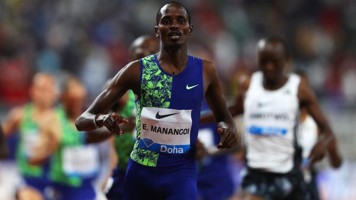Elijah Manangoi, lors de la Diamond League 2019.