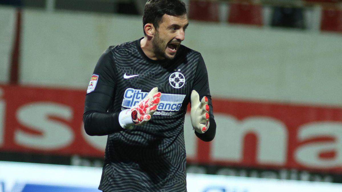 Cătălin Straton, portarul transferat de FCSB de la Dinamo