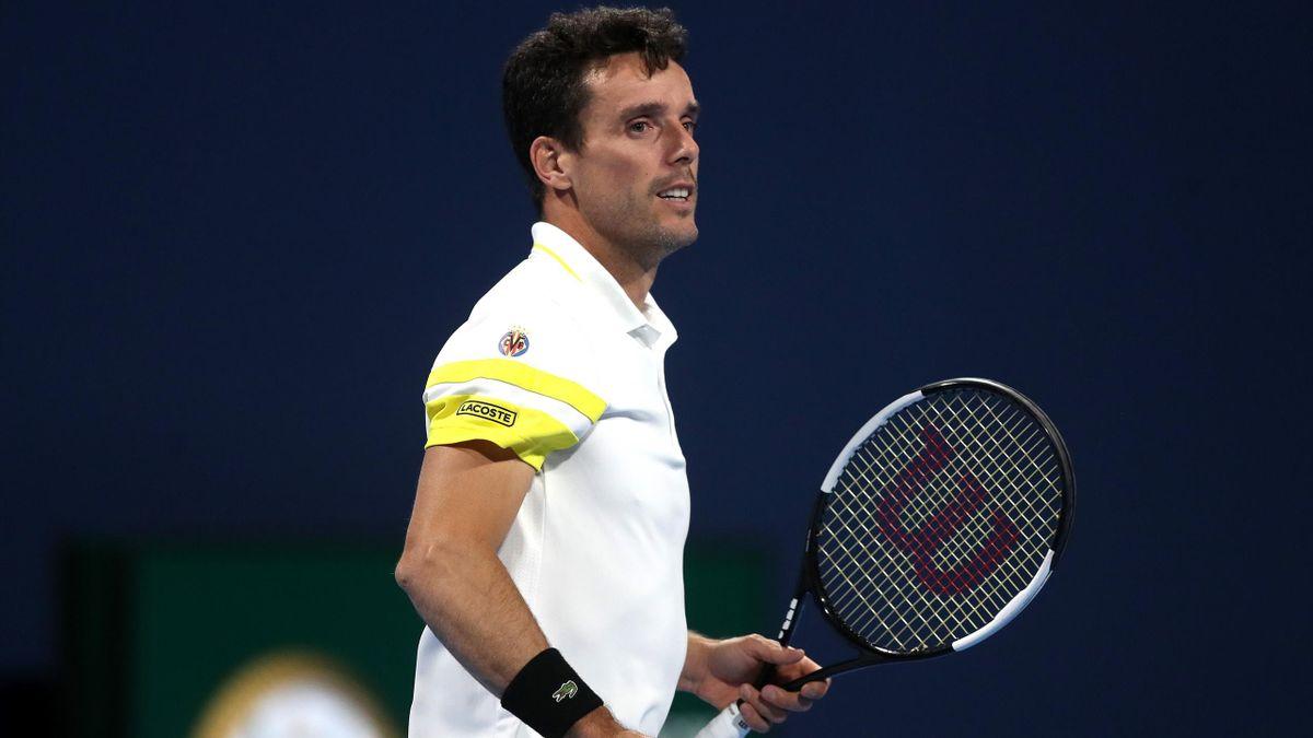 Roberto Bautista cede en la final del ATP 250 de Doha