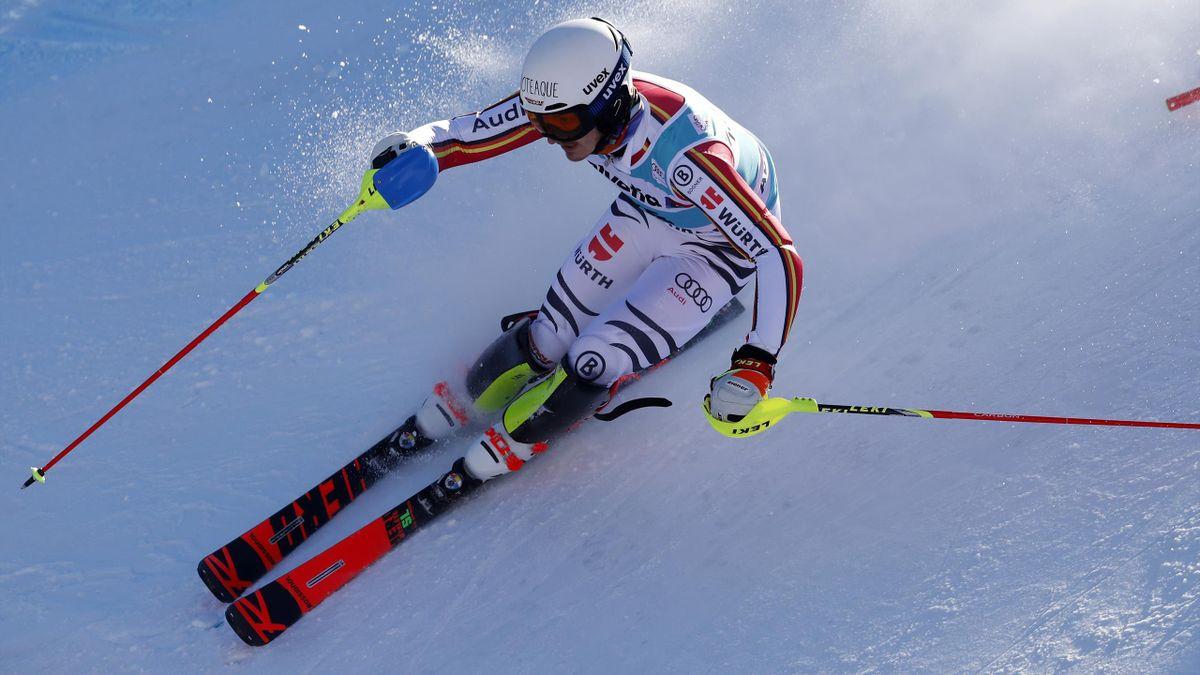 Linus Straßer - Slalom in Adelboden 2020