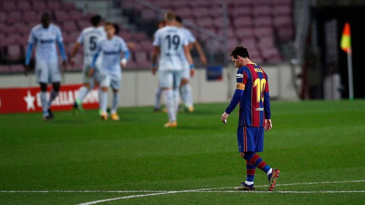 Lionel Messi - Barcellona-Valencia Liga 2020-21