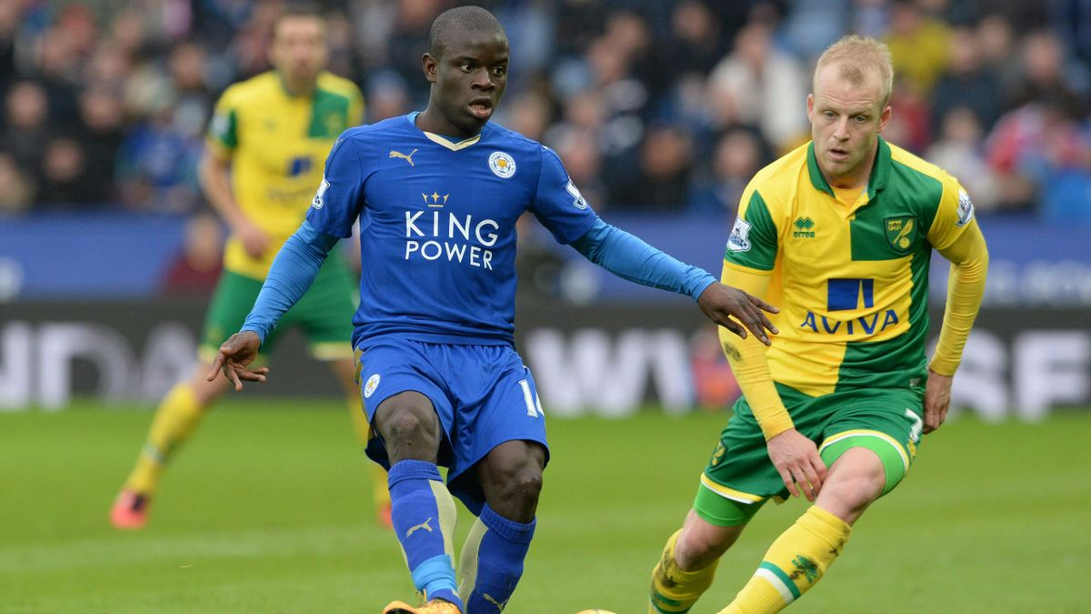 Leicester's Ngolo Kante has been a revelation in the Premier League.