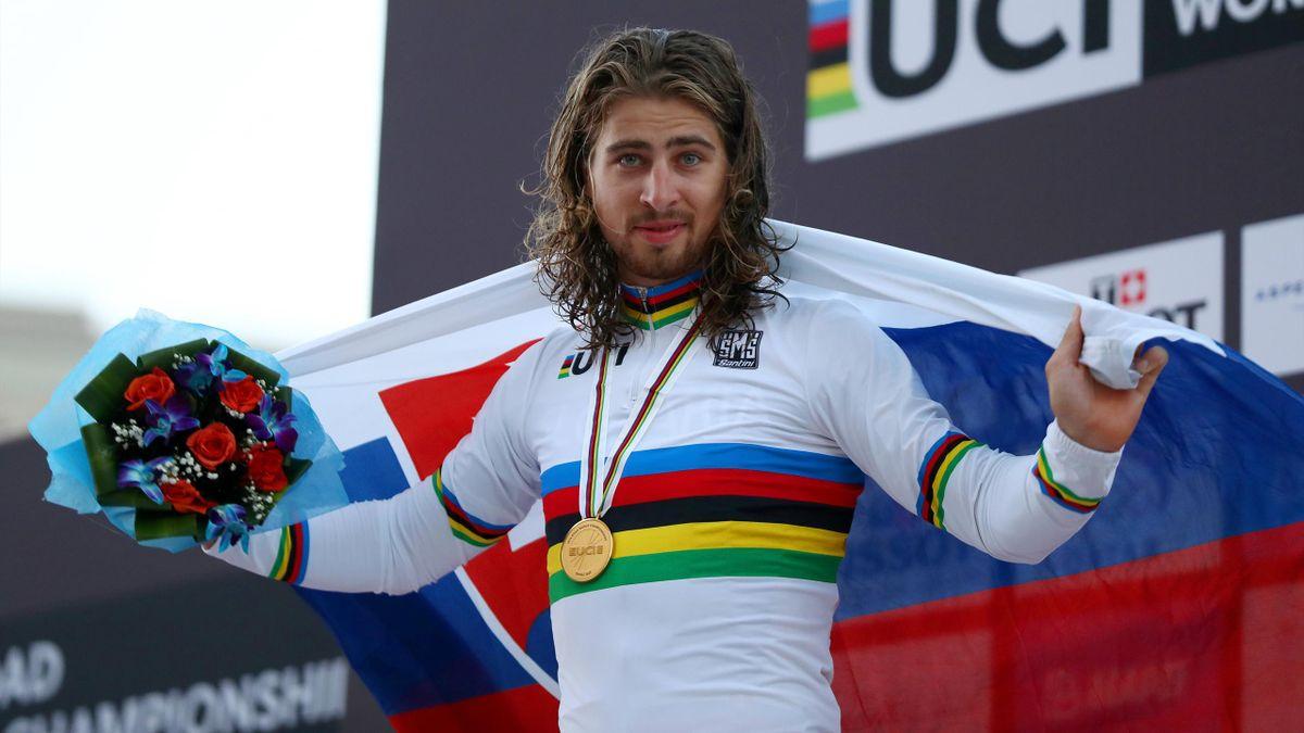 Peter Sagan, campeón del mundo en Doha 2016