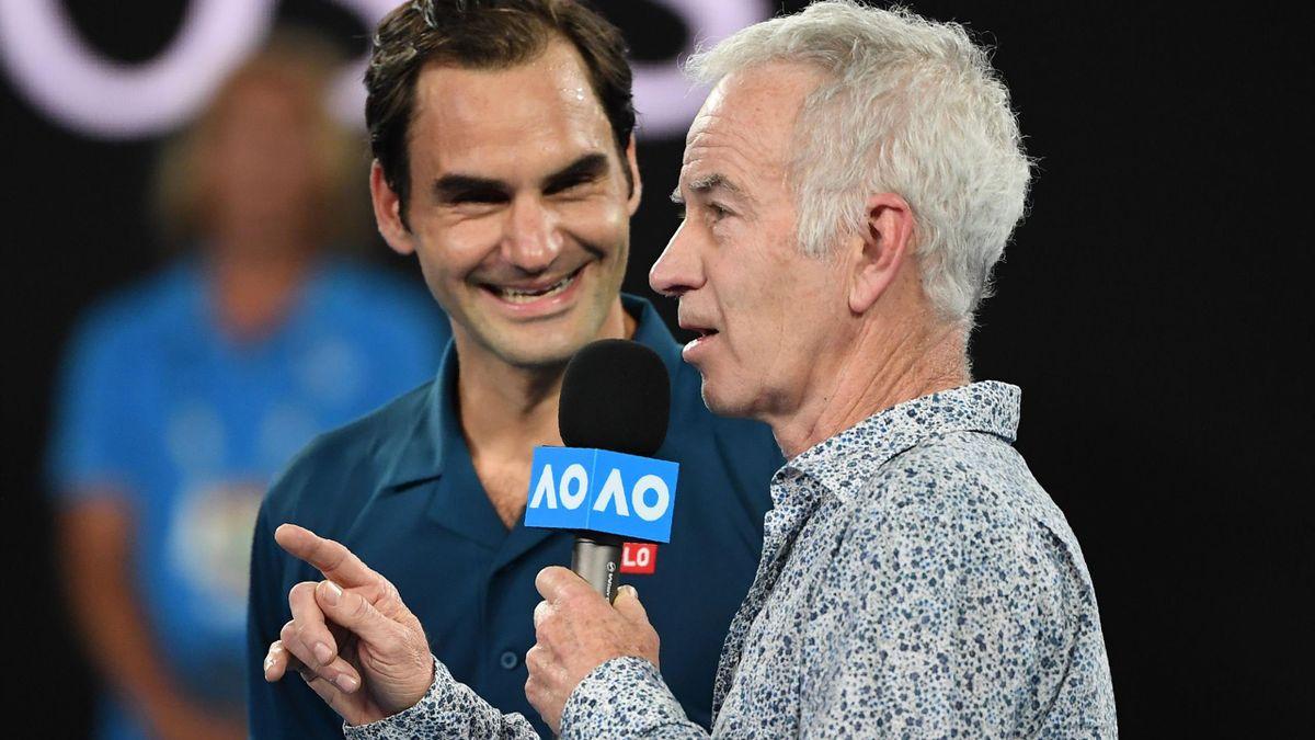 Roger Federer & John McEnroe