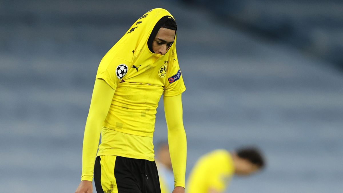 Ein enttäuschter Jude Bellingham - Manchester City vs. Borussia Dortmund