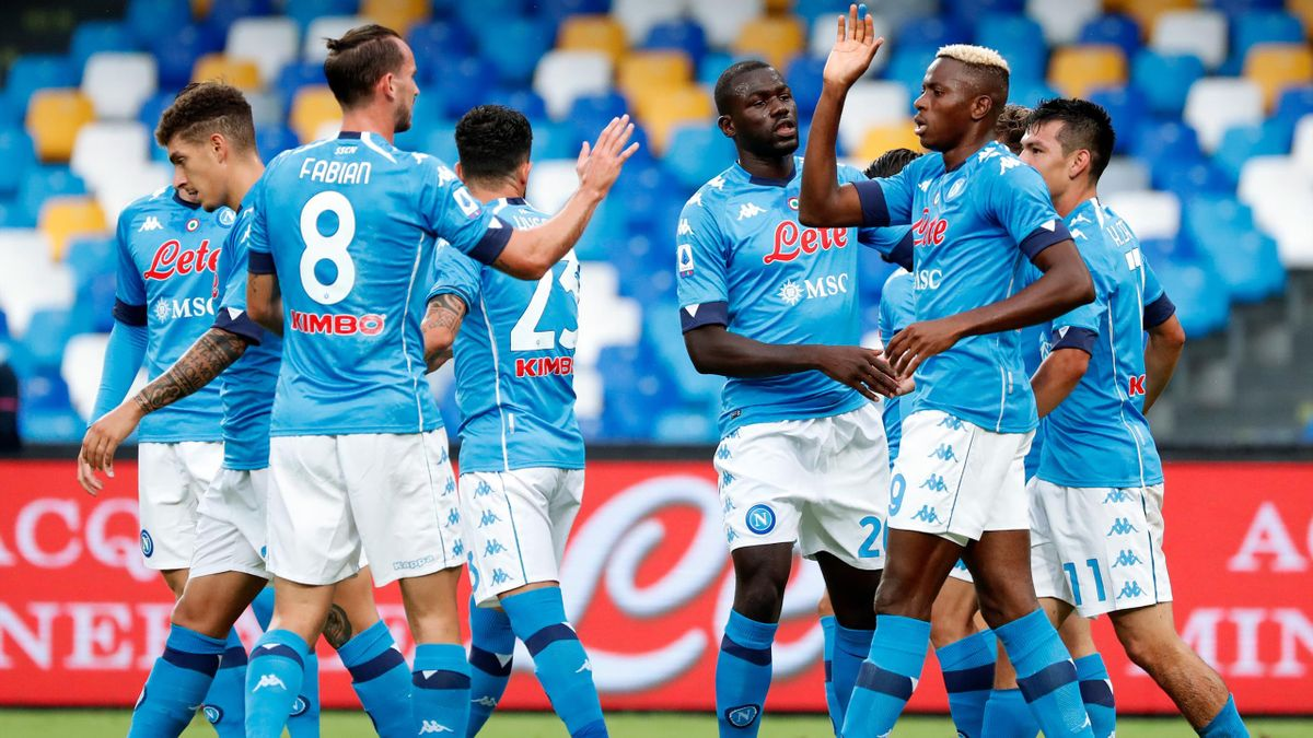 Napoli Say Team Is Free From Covid 19 After Genoa Revealed 14 Positive Results Eurosport