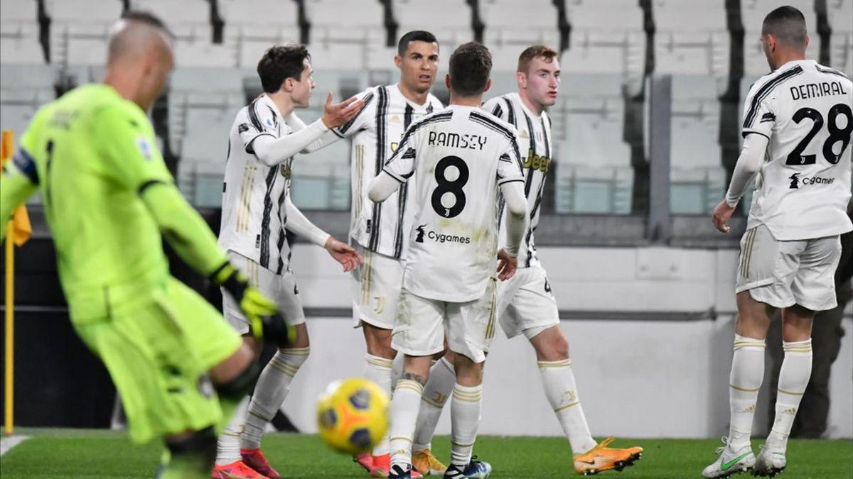 Cristiano Ronaldo - Juventus-Crotone - Serie A 2020/2021 - Getty Images