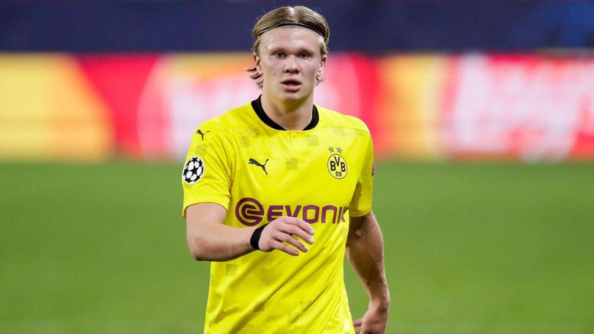 Haaland - Siviglia-Borussia Dortmund - Champions League 2020/2021 - Getty Images