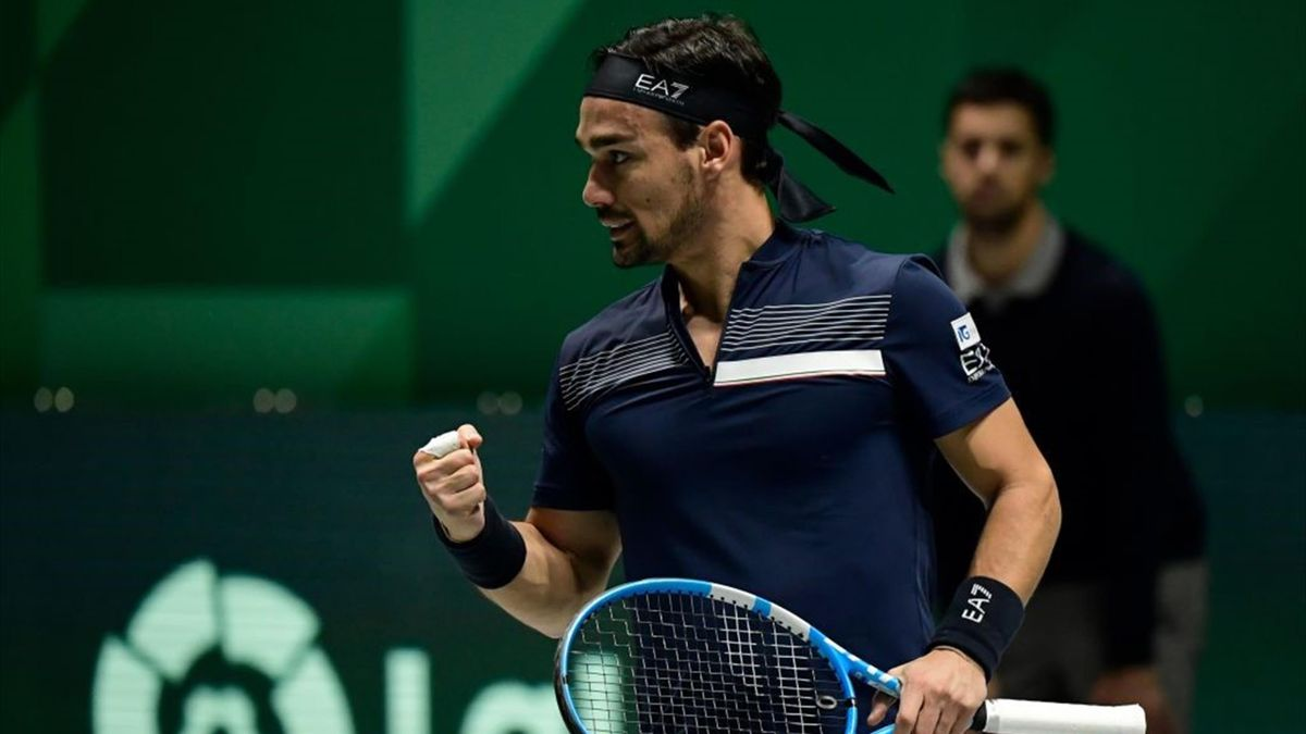 Fognini vs Opelka - Davis Cup 2019 - Getty Images