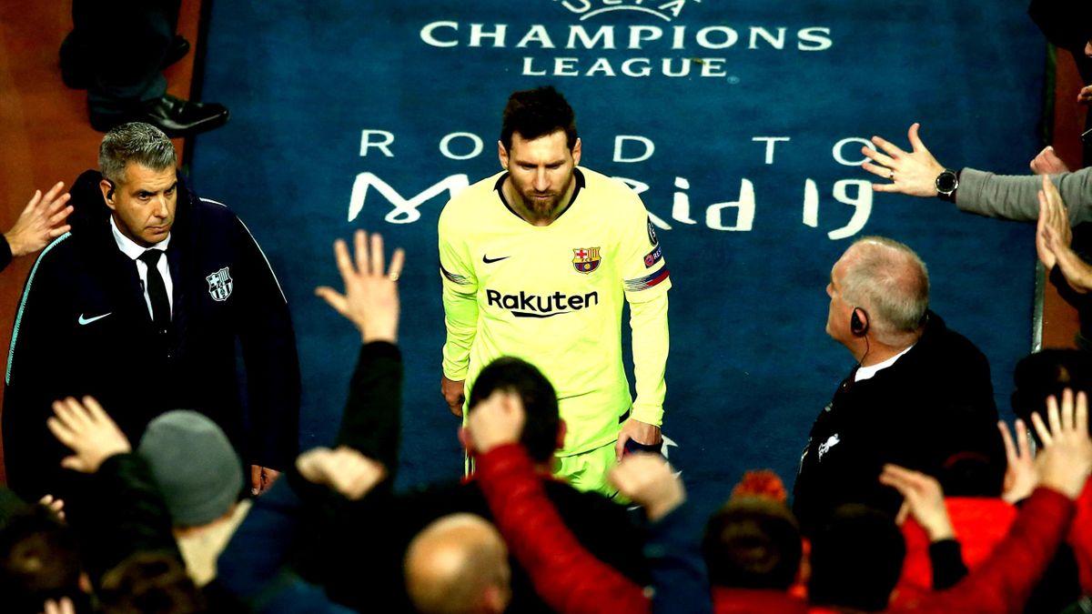 Lionel Messi bei Liverpool - Barcelona
