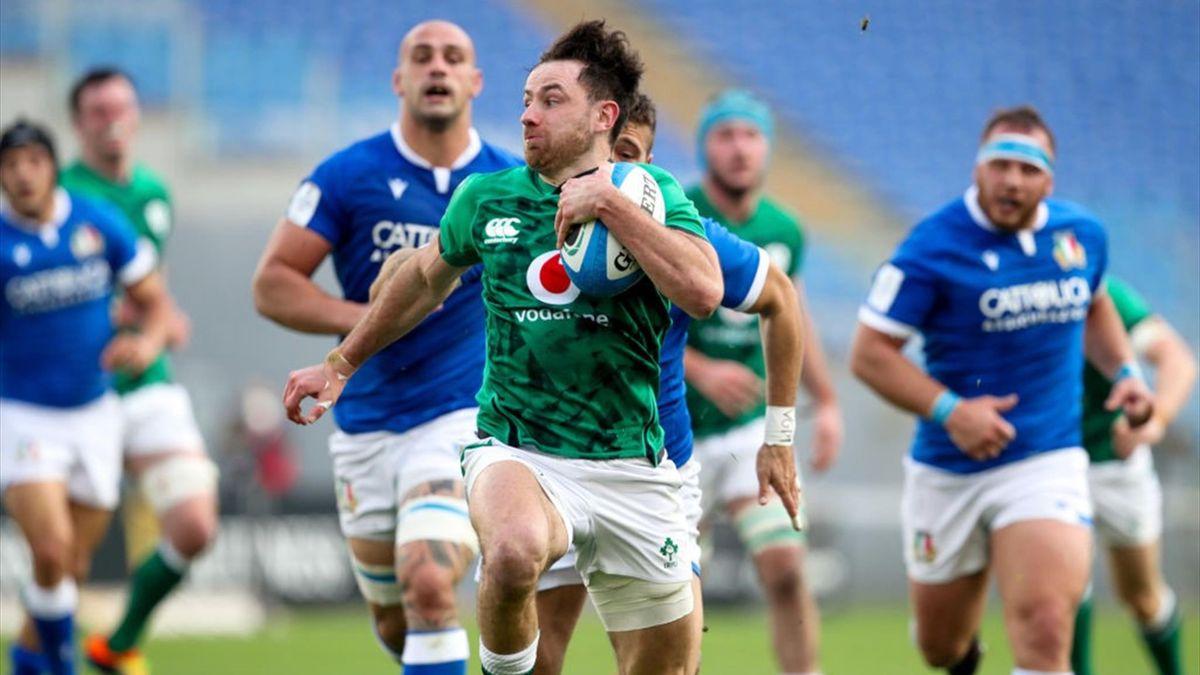 Keenan - Italia-Irlanda - Sei Nazioni 2021 - Getty Images