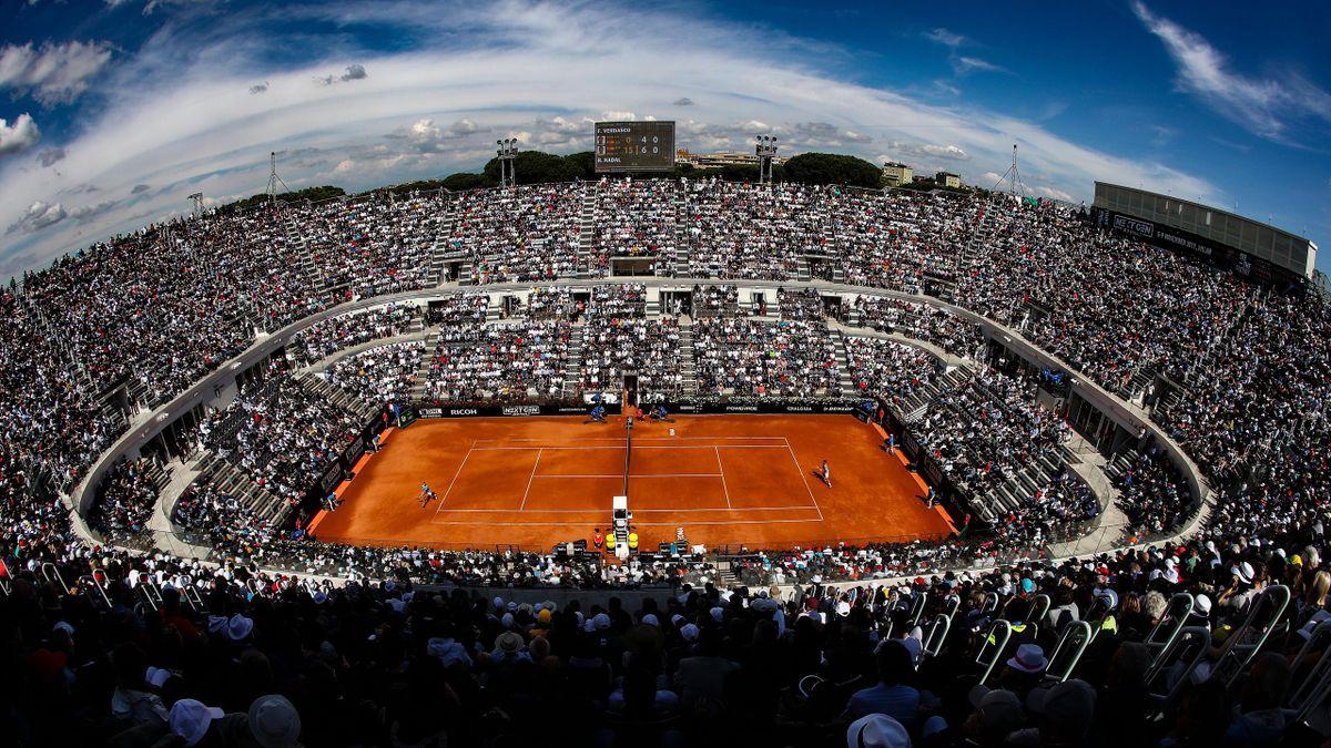 Le Foro Italico lors du Masters de Rome 2019