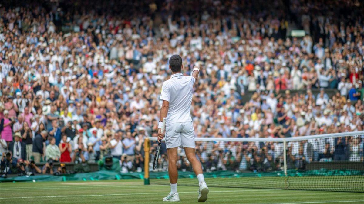Wimbledon final in 2019