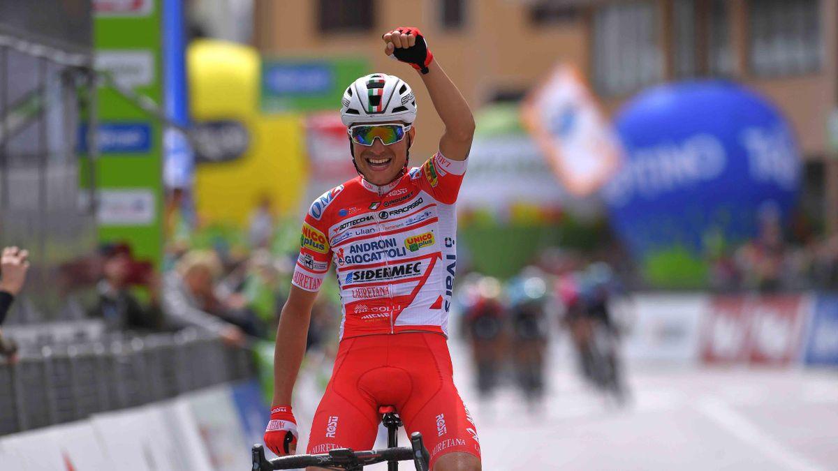 Fausto Masnada, Alpen-Rundfahrt 3. Etappe