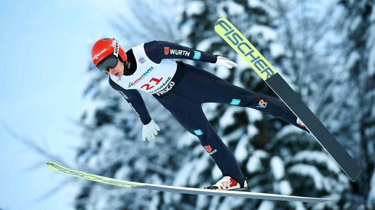 Constantin Schmid ist bei der Heim-WM in Oberstdorf dabei