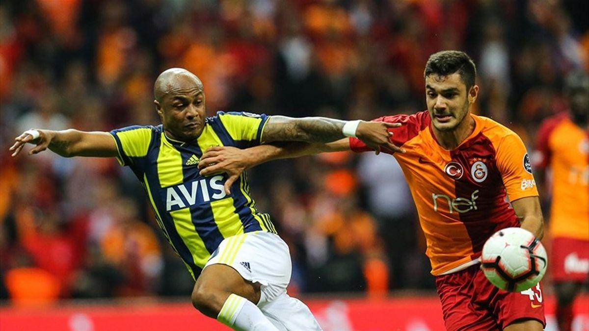 Galatasaray-Fenerbahçe-Ayew-Ozan-Kabak