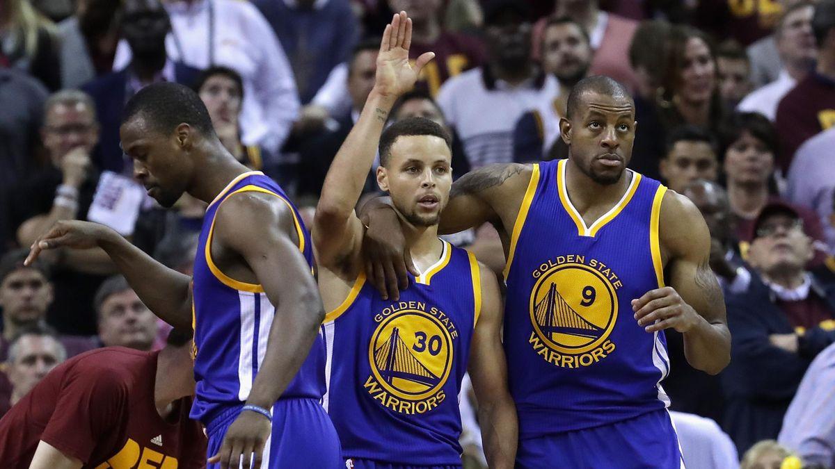 Stephen Curry a été l'artisan de la victoire de Golden State à Cleveland dans le match 4