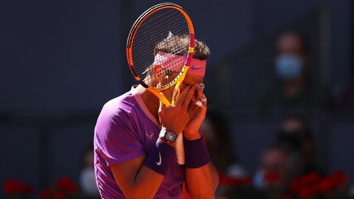 Rafael Nadal a Madrid
