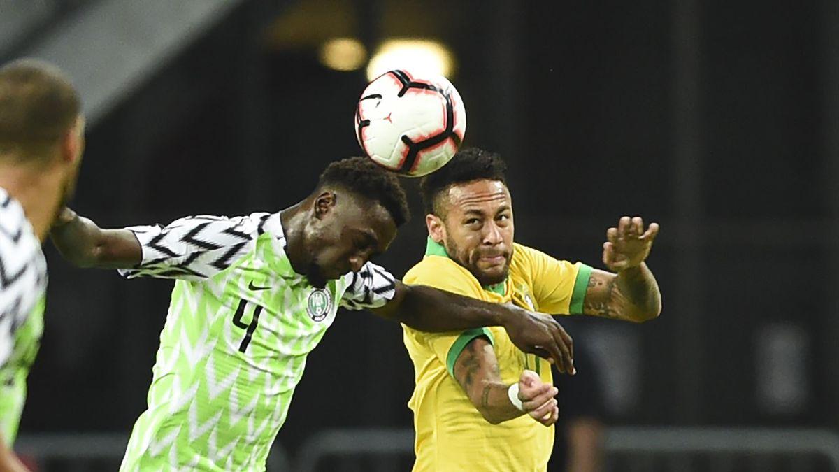 Neymar face au Nigéria