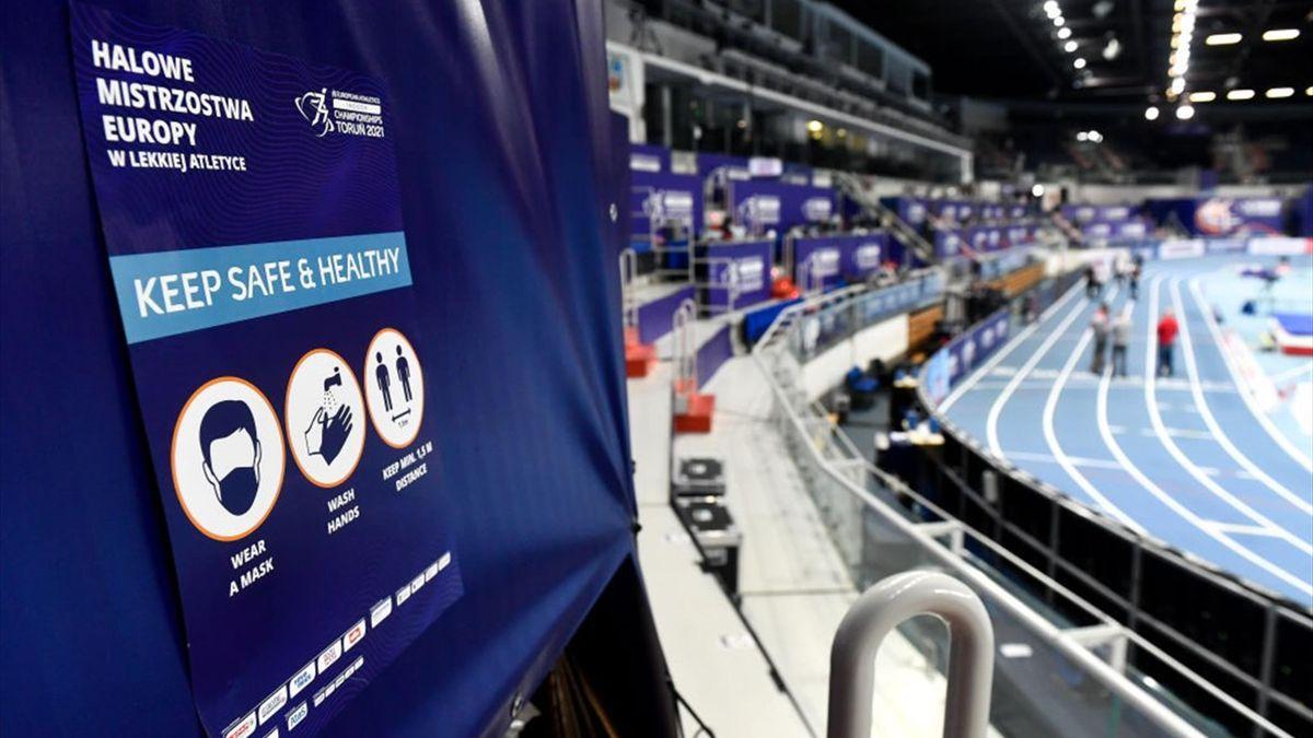 Nach der Hallen-EM in Torun melden zahlreiche nationale Leichtathletik-Verbände positive Coronafälle