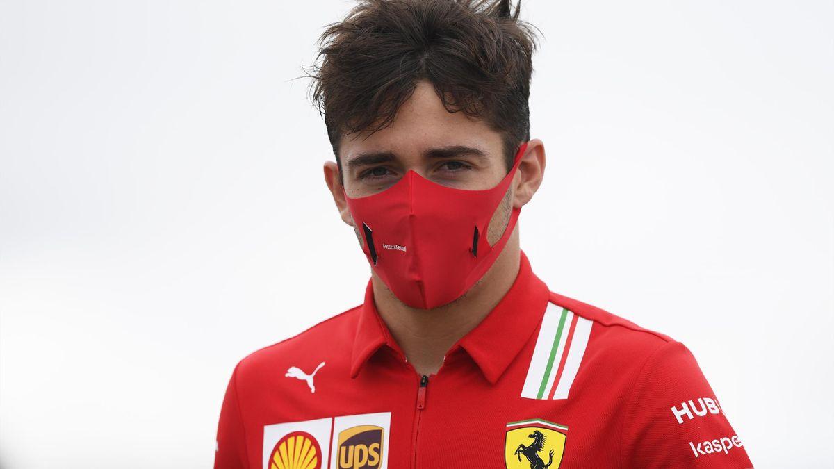 Charles Leclerc (Ferrari) wies die Rassismusvorwürfe gegen ihn deutlich zurück