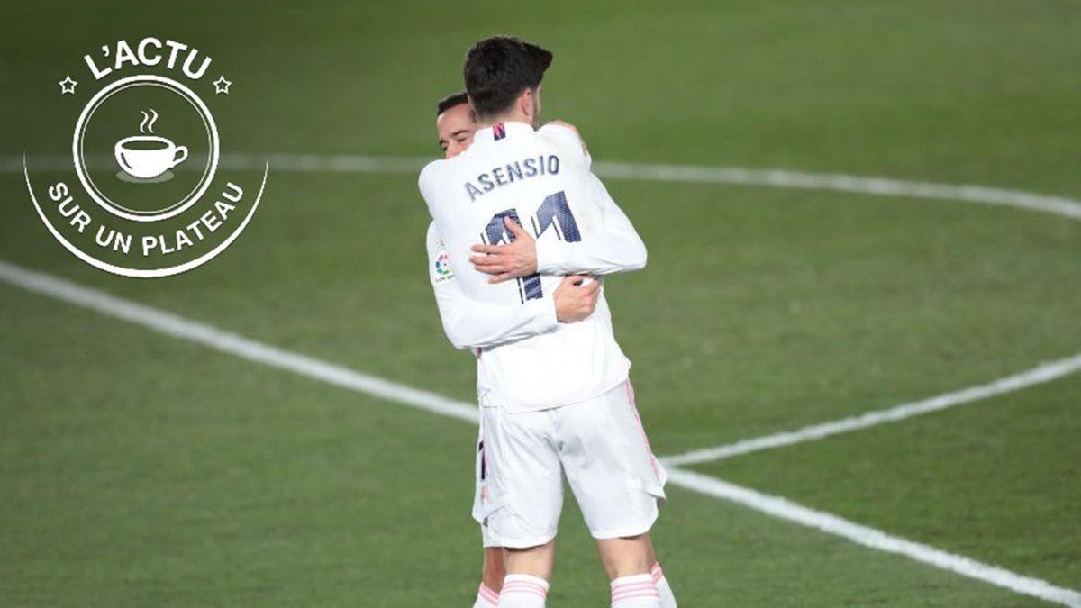 Marco Asensio et Lucas Vazquez (Real Madrid) - L'actu sur un plateau