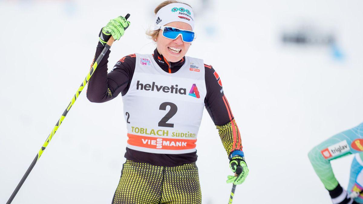 Sandra Ringwald gelingt der Einzug ins Viertelfinale