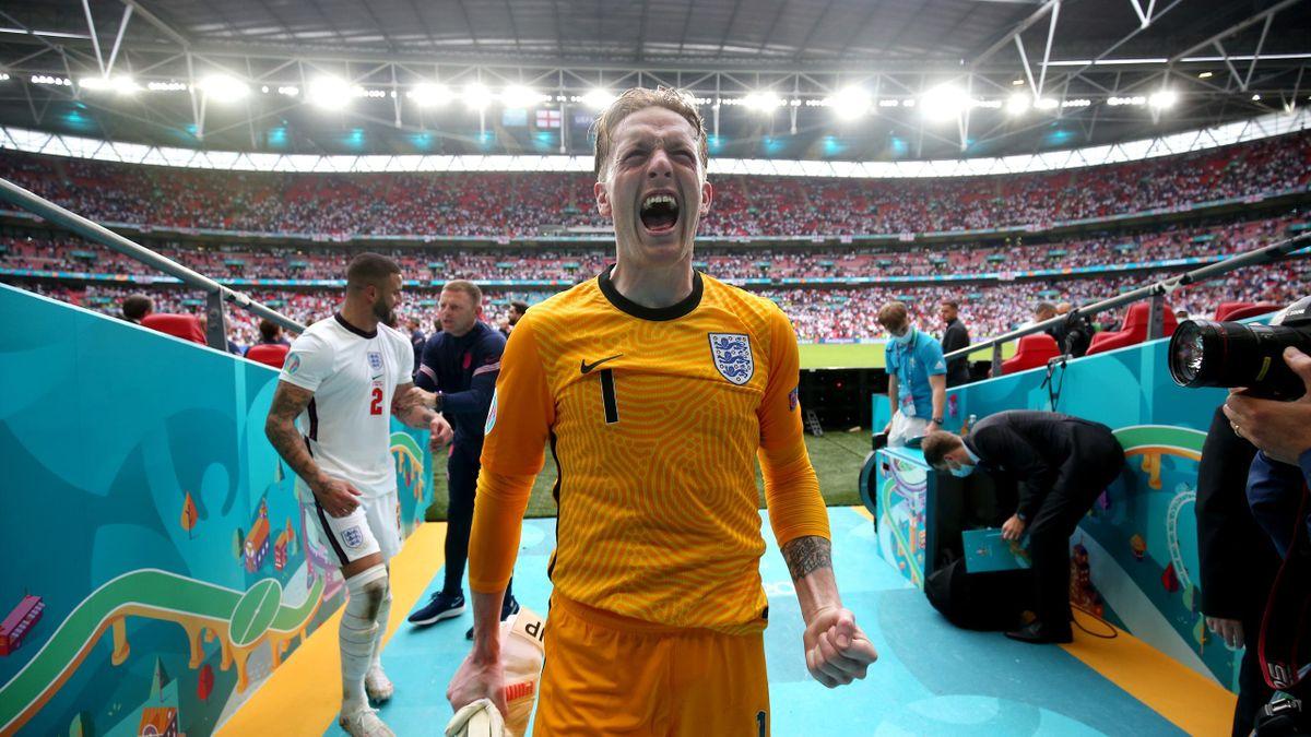 Джордан Пикфорд, Англия – Германия, Евро-2020