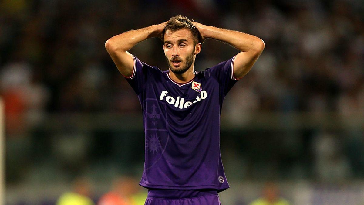 German Pezzella, défenseur argentin de la Fiorentina.